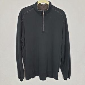 Tommy Bahama 1/2 zip sweater L
